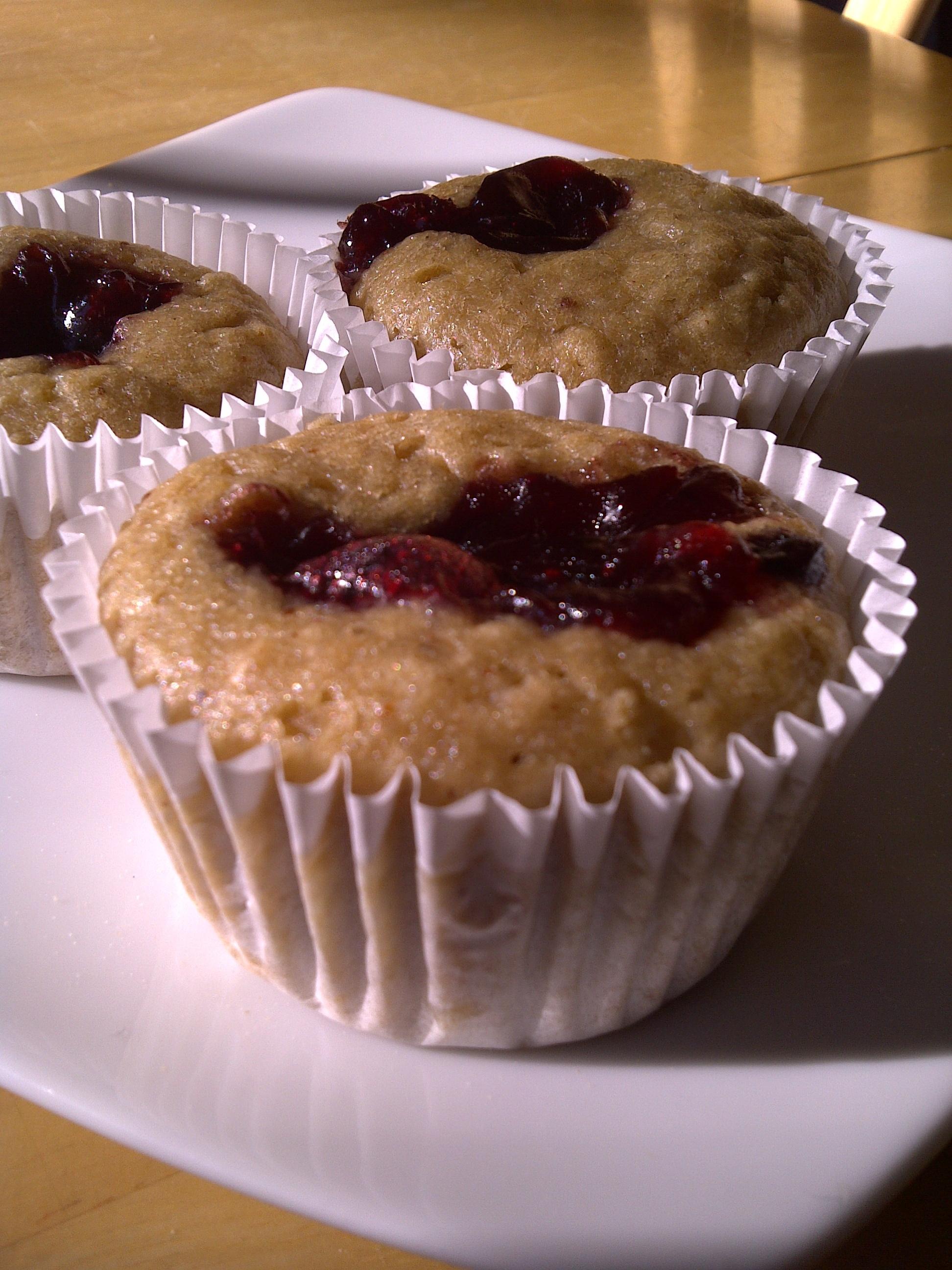 Jelly Donut Cupcakes | Health Freaxs Unite!